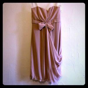 "NWT Vera Wang ""The Tina"" Dress in Blush Size 10"